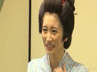 japonec, velká prsa, jednotný