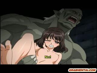 Hentai prinsessa brutally groupfucked mukaan ggheton monsters