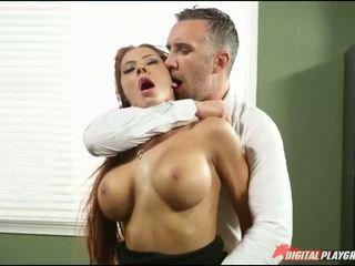 বড় tits, অফিস, হার্ডকোর