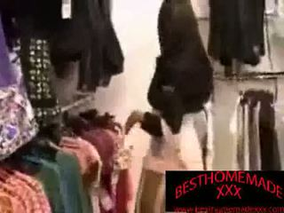 Public Sex In A Department Store Changing Room