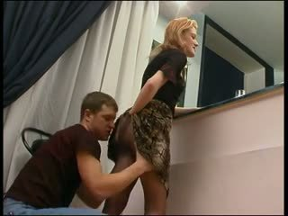 anal, rusisht, stockings