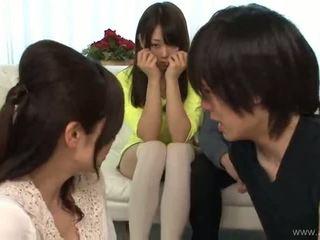 japanese, gruppe sex, blowjob