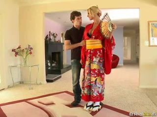 সাদা geisha breaking সঙ্গে customs