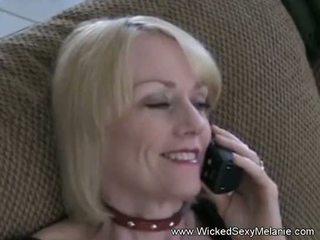 Amateur Mom Cumplay With Son