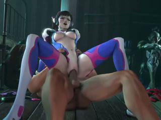 Girls in Overwatch have sex