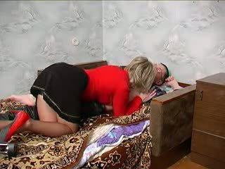 Russian Mom Shows Some Love.