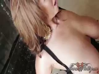 Eva notty কাচ dildos সঙ্গে kelly madison