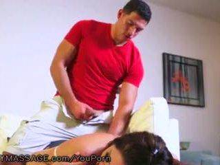 masturbación, masaje, mamá