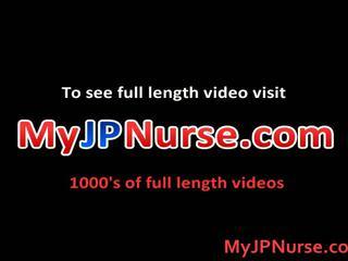 Aki yatoh azjatyckie pielęgniarka likes pieprzenie