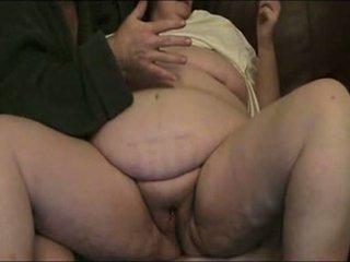 granny, fat, fisting