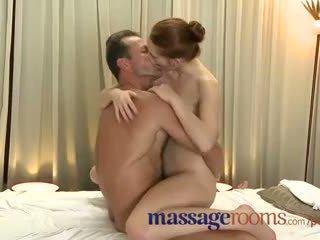 Masáž rooms incredible mladý žena serviced pak creampie