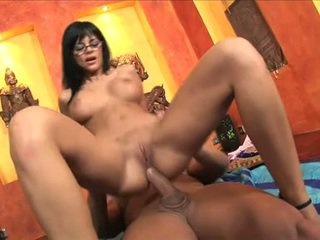 Black Angelica On Floor Acquire Her Feet Filled With Cum