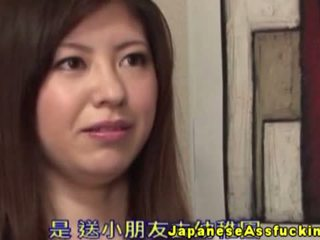 יפני, assfucking, זיונים בתחת