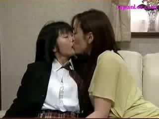 japonais, lesbienne, asiatique