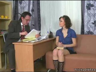 Sensual tutoring com professora