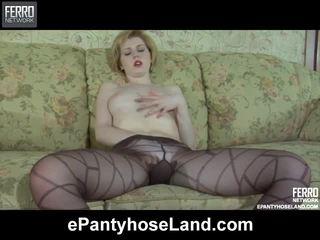 percuma seks tegar ideal, baru pantyhose berkualiti, campuran