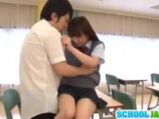 Schoolgirl Yuri Shinomiya Sucks And Fu...