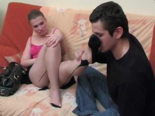 Alana&silvester - 腳功封口 和 他媽的
