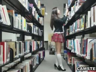 webcam, strip-tease, écolière