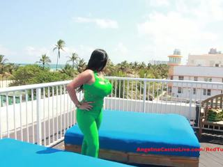 Big Titted Angelina Castro FUCKS on ROOFTOP?