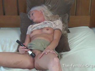 amateur, vibratorius, masturbuojantis