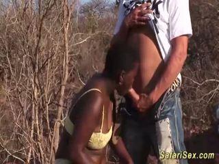 深喉, groupsex, 非洲的