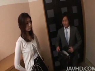 japonais, amical féminin, pipe