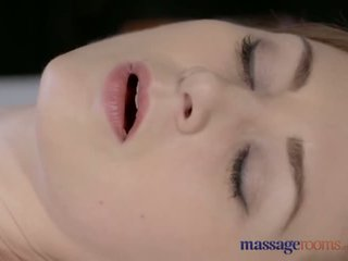 Massage Rooms Beautiful pale skinned Mom squirts for the very first time - Porn Video 901
