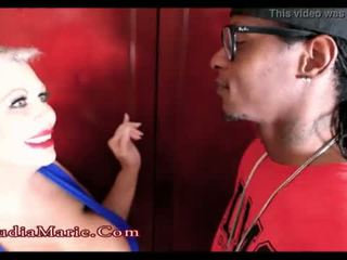 Huge Fake Tit Whore Claudia Marie Cheats On Husband With A Black Man <span class=duration>- 1 min 43 sec</span>