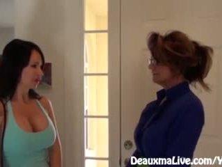 Милф deauxma scissors angie към продажба тя къща!