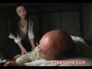 Nemfomanyak becerdin tarafından eski adam 01