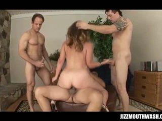 hardcore sex, group sex, blowjob action