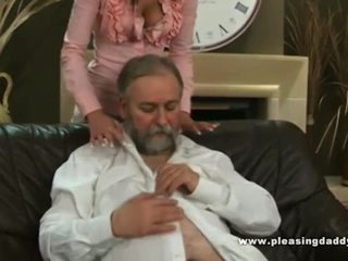 Lucky Mature Fucks His Hot Young Trophy Wife