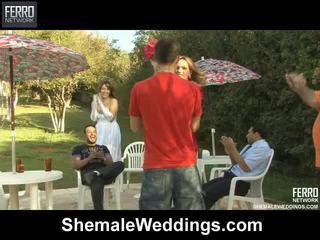 Karstās shemale weddings mov starring senna, alessandra, patricia_bismarck