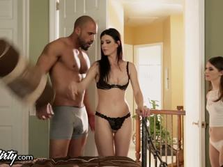 India Summer Shares Daddys Dick with Step-Daughter
