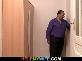 Delivery gajo é paid para libra jovem esposa