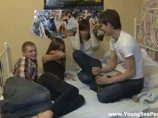 group sex, teen pussy fucking, teen blowjob action