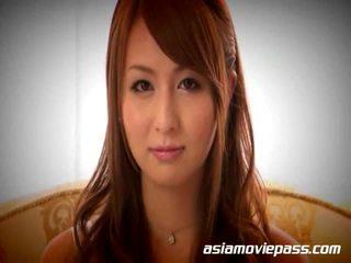 Japoneze vajzë giving i madh goditje punë