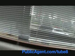 Publicagent βρετανικό μελαχρινός/ή πατήσαμε σκληρά με τσέχικο μεγάλος καβλί