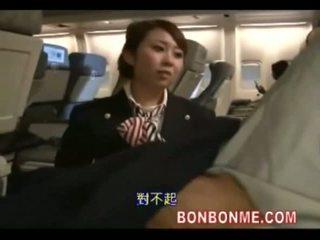 Hospedeira caralho com passenger