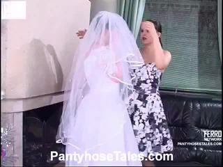 bride, videi, lezbični seks