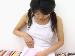 Haruka aida chaud asiatique ado solo