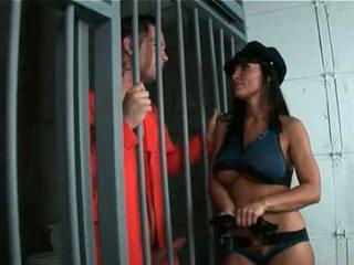뜨거운 바보 엄마 재생 경찰 여성 rides 거대한 비탄 형사