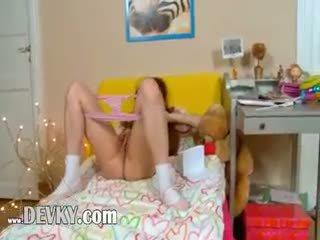 Pink Panties And Extreme Vibrator