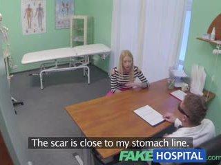 Fake Hospital Hot blonde gets the full...