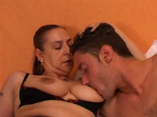 Granny Gives a Sex Lesson to Her Young Lover: Free Porn 66