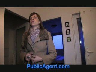 สาธารณะ agent fucks ท้อง marketa