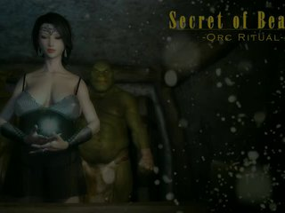 3D animated girl fuck orcs