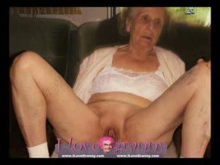 bbw, nenek, matang