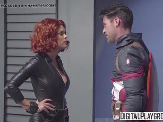 Digitalplayground - Captain America a XXX Parody: Porn fb